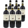 Coffre de vin personnalisable style colonial  - 6 vins italiens
