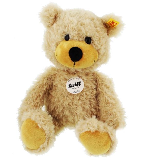 Personalisierbarer Steiff-Teddy Charly im Reisekoffer