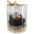 Canard de bain argenté personnalisable