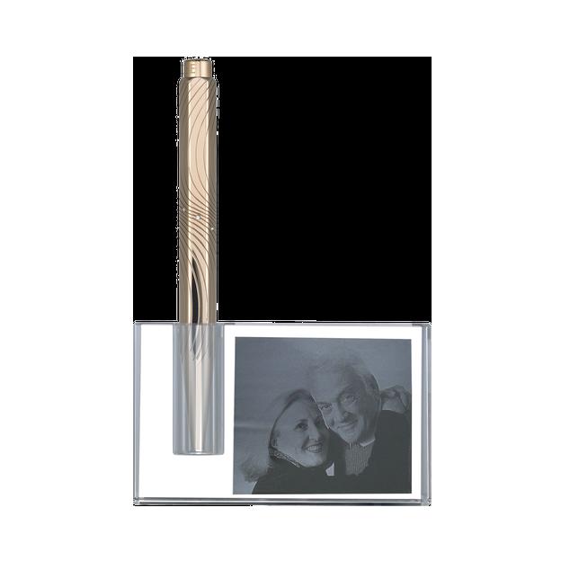Foto im Glas Stifthalter