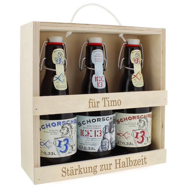Set de bières personnalisable