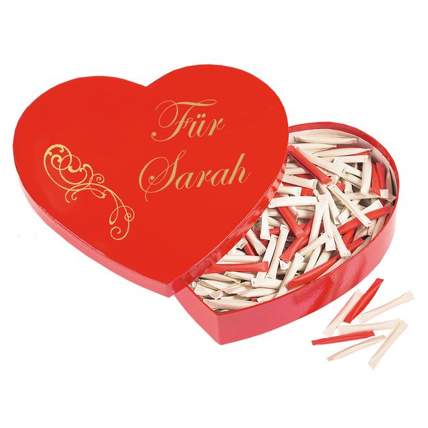 Love Heart mit Personalisierung