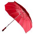 Personalisierbarer Herz-iger Schirm