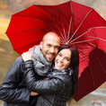 Parapluie Coeur personnalisable