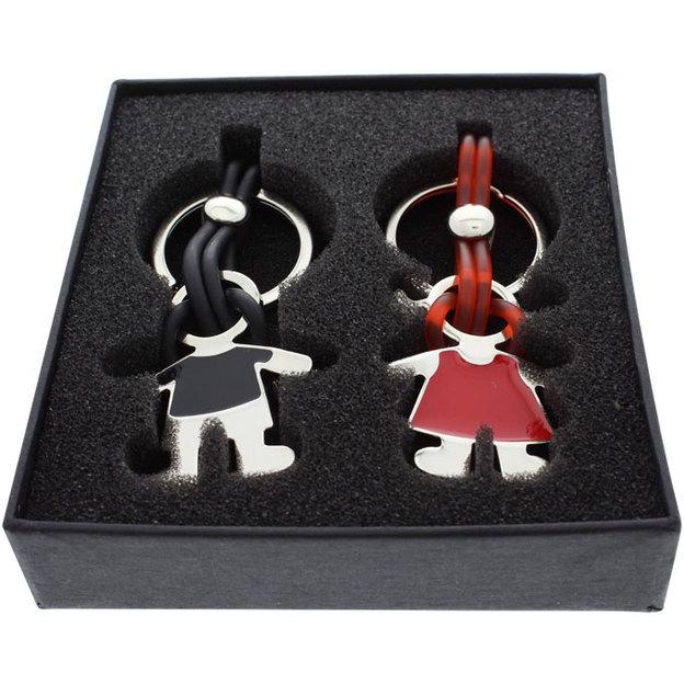 Porte-clés couple personnalisables