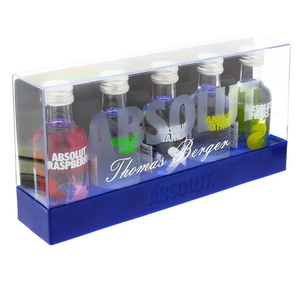 Personalisierbares Absolut Vodka Set