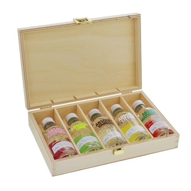 Coffret Absolut Vodka personnalisable