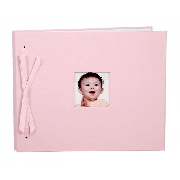 Babyalbum Fiocco pink