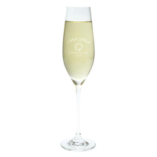Flûte de Champagne personnalisable