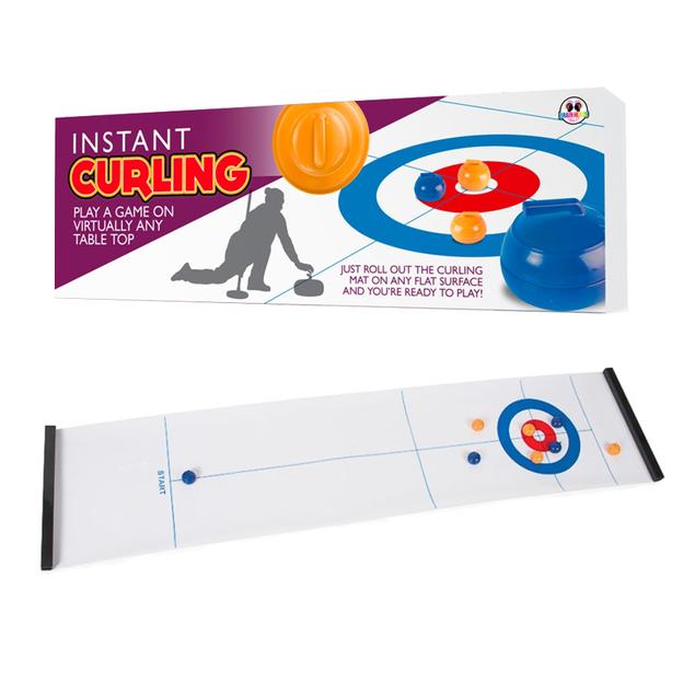 Tisch-Curling Spielfeld 120 x 40 cm