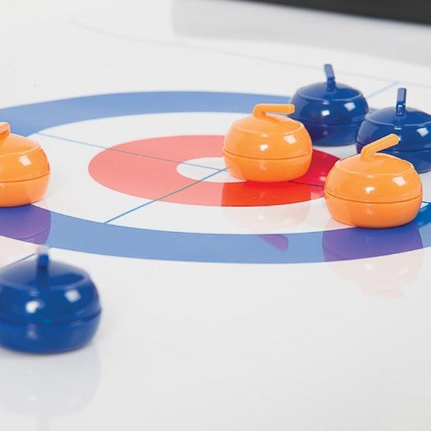 Curling de table - jeu à 8 pierres