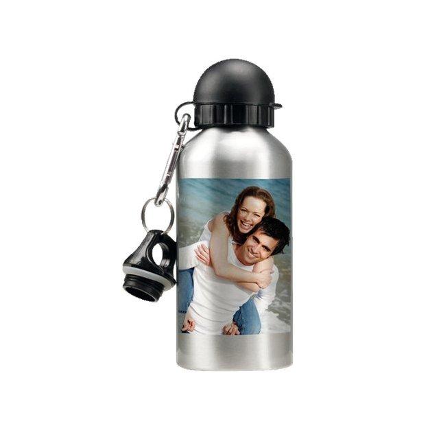 Trinkflasche mit Foto