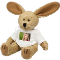 Animaux en peluche personnalisables par photo