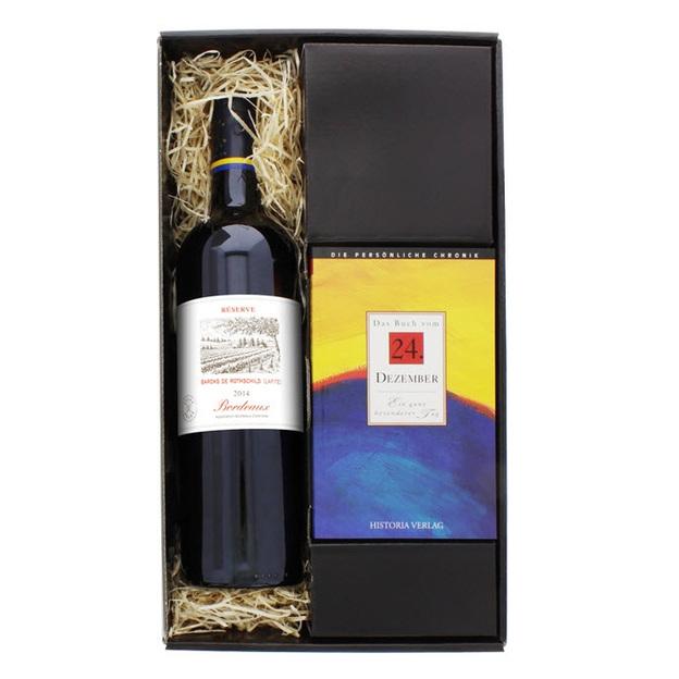 Rothschild Geschenkset Wein und Chronik