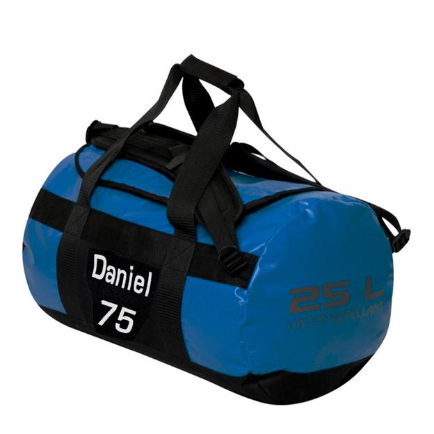 Sac de sport personnalisable 25 litres bleu