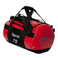 Personalisierbare Sporttasche 25 Liter rot