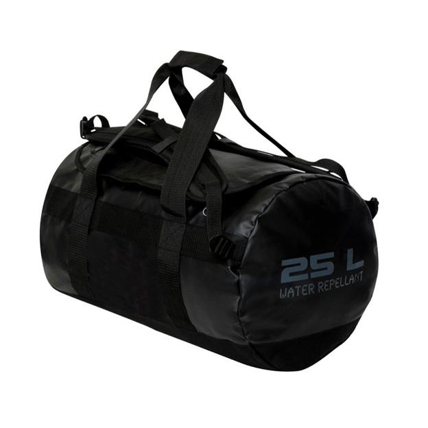 Personalisierbare Sporttasche 25 Liter schwarz