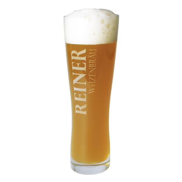 Personalisierbares Bier-Glas mit Gravur
