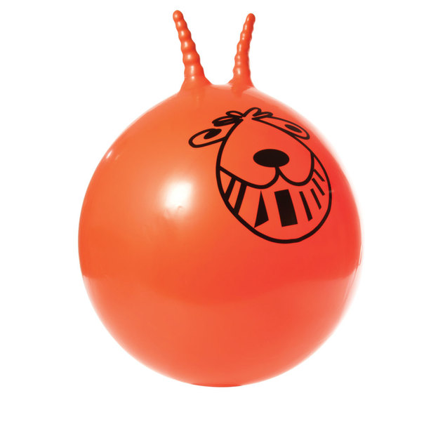 Retro Hüpfball inkl. Pumpe