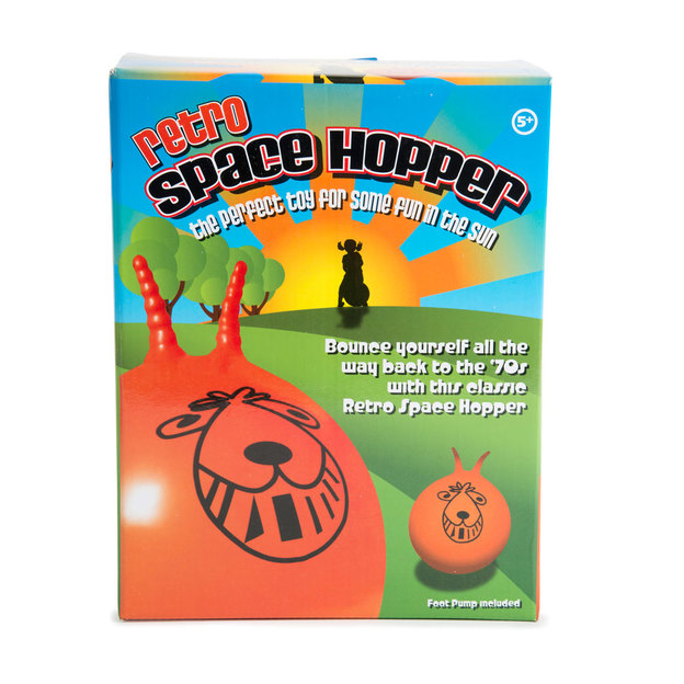 Ballon sauteur Space Hopper avec pompe