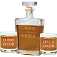 Carafe Whisky et verres personnalisable