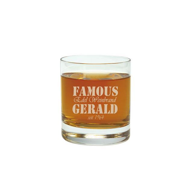 Personalisierbare Whisky-Karaffe mit Gravur Geschenkset