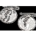 Boucles d'oreilles Monogramme argent 925