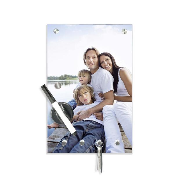 Panneau clés en verre personnalisable par photo