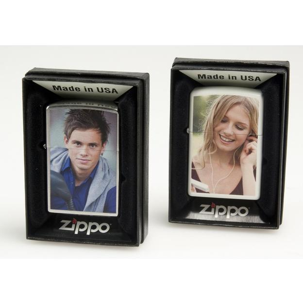 Personalisierbares Zippo Feuerzeug mit Fotodruck