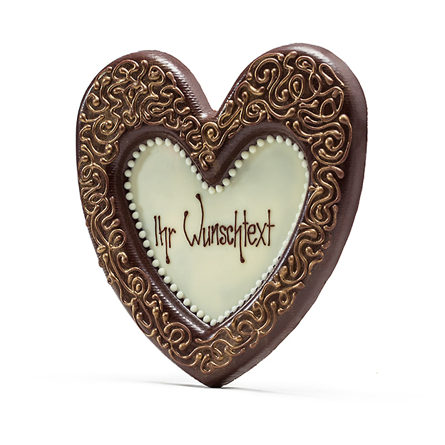 Coeur en chocolat Grand Cru 65%