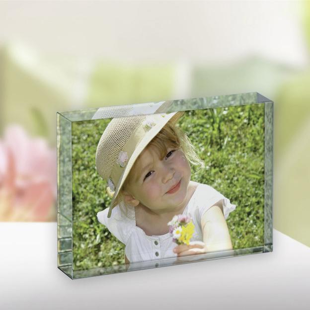 Photo couleur 3D dans le verre