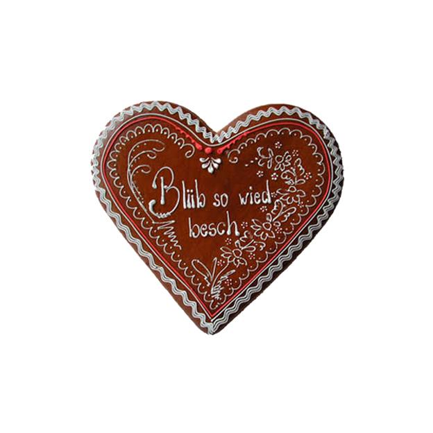 Coeur Pain d'épices personnalisé