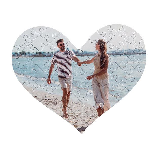 Herz Foto Puzzle