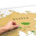 Scratch Weltkarte XL