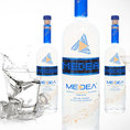 MEDEA Vodka à message LED personnalisable