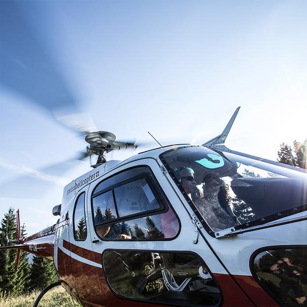Helikopterrundflug im Prättigau
