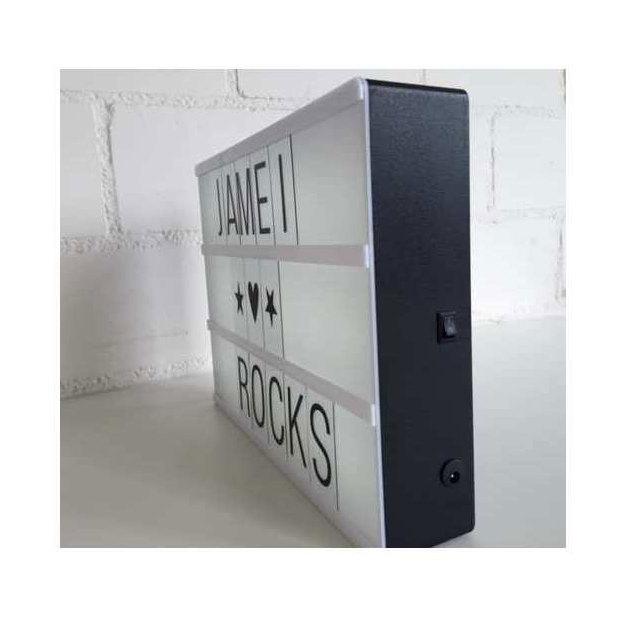 Vegas Lights LED Message Box