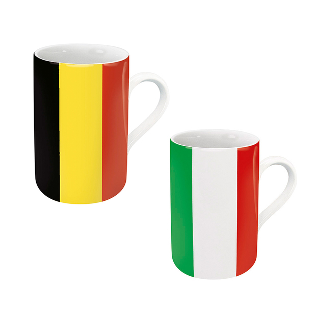 Flaggenbecher 2er-Set - wähle dein Land