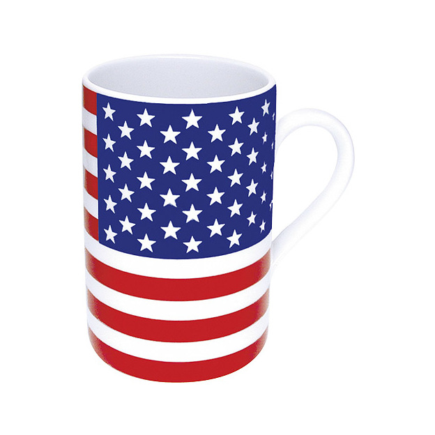 Tasses Drapeaux set de 2 - Choisis ta nation