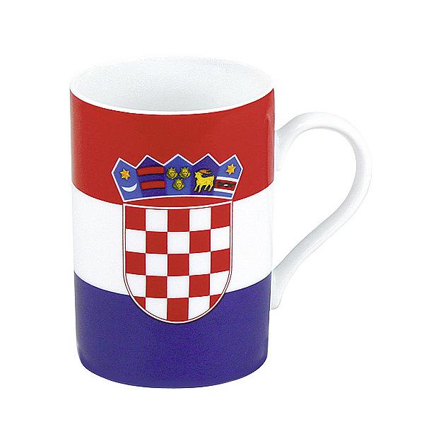 Tasses Drapeaux set de 2 - Choisis ta nation