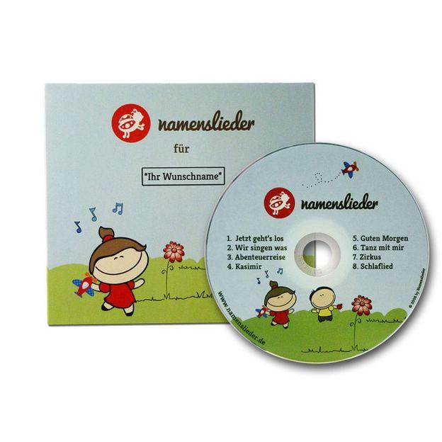 Personalisierbare Namenslieder CD