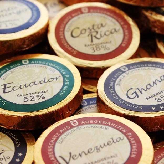 Coeur personnalisable Trésor de chocolats