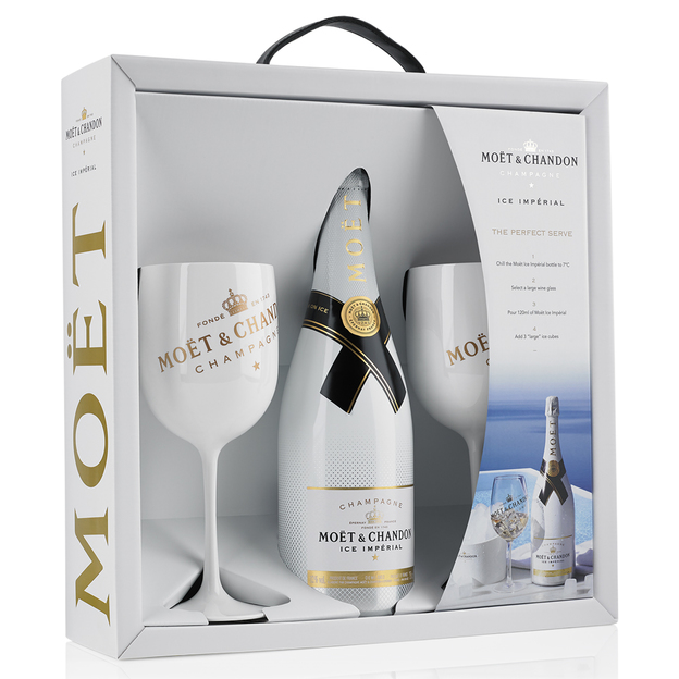 Moët & Chandon ICE perfect serve