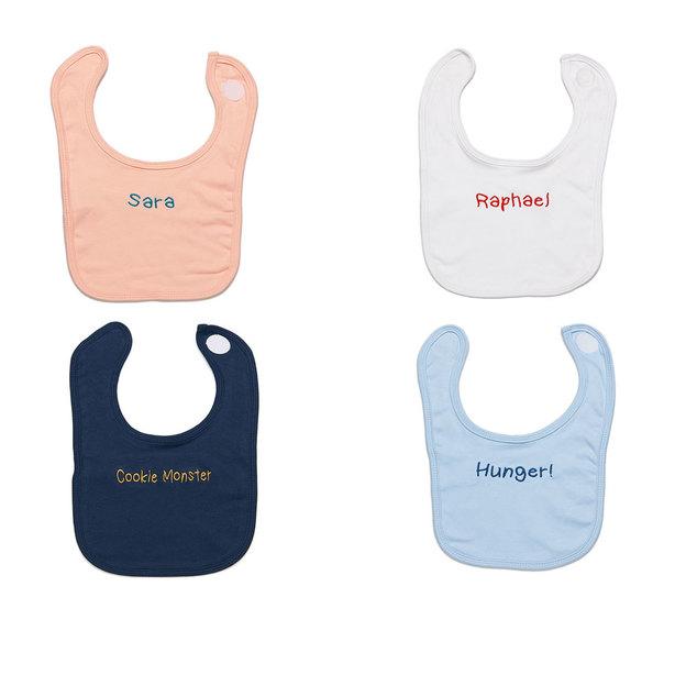 Bavoir personnalisé pour bébé