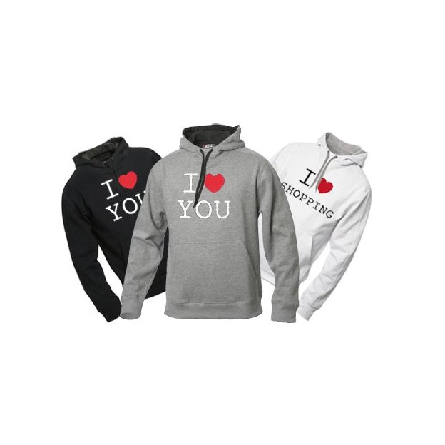 I Love Hoodie personnalisable