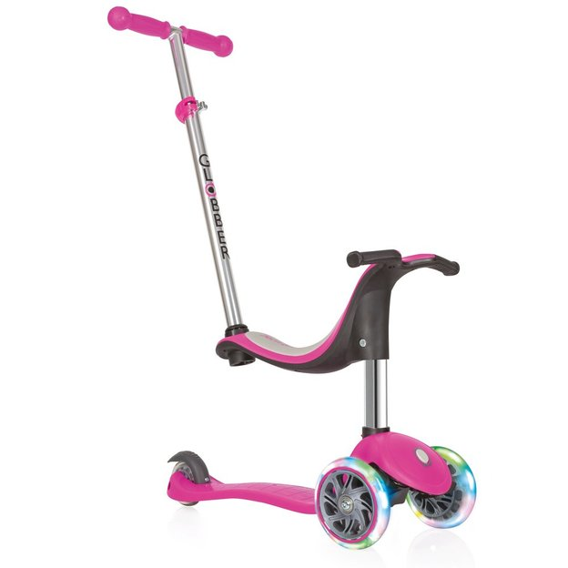 Globber Scooter 4-in-1 pink