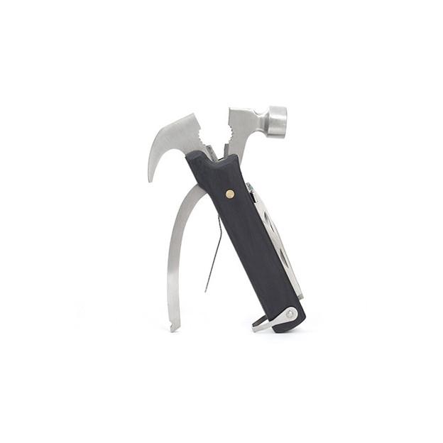 Personalisierbarer Mini Hammer schwarz