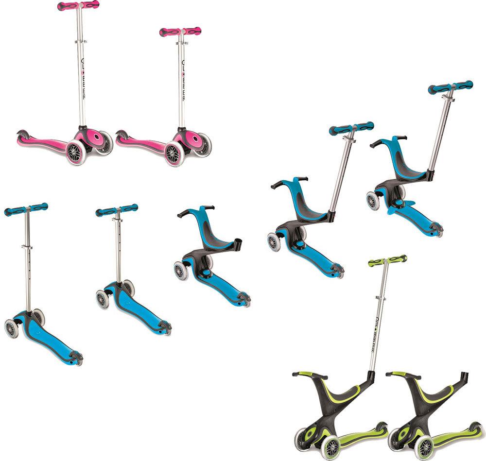 Globber Scooter 5-in-1 - Trottinette évolutive