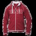 Jahrgangs-Jacke für Frauen rot, Grösse XL
