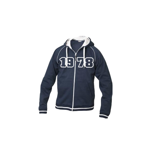 Jahrgangs-Jacke für Frauen marine, Grösse M